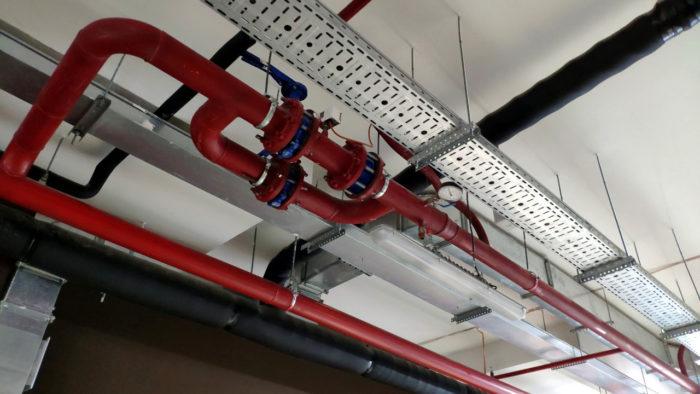 Трубы внутреннего противопожарного водопровода